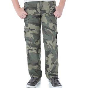 Wrangler Boys Husky Cargo Pants -  2 pair
